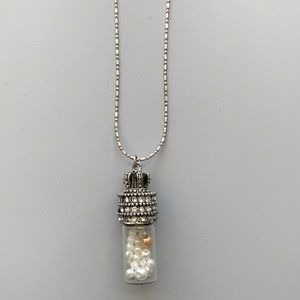 A Vial of Pearls Necklace